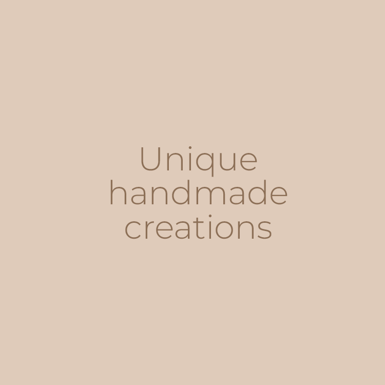 creazioni uniche fatte a mano